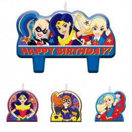Super Hero Girls Candles...
