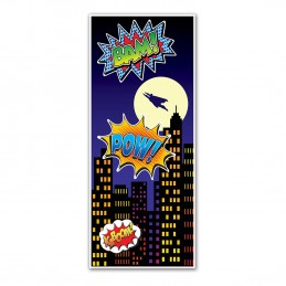 Superhero Door Banner