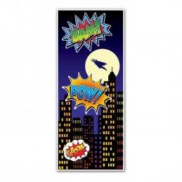 Superhero Door Banner | Avengers Party Supplies