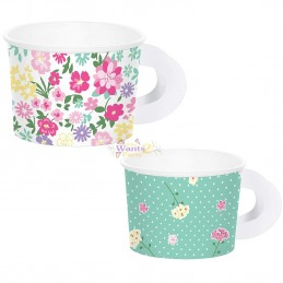 Floral Tea Party Treat Cups...