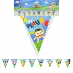 Play School Pennant Banner