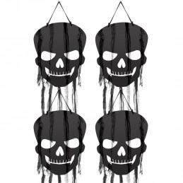 Skull Cutouts with Gauze...