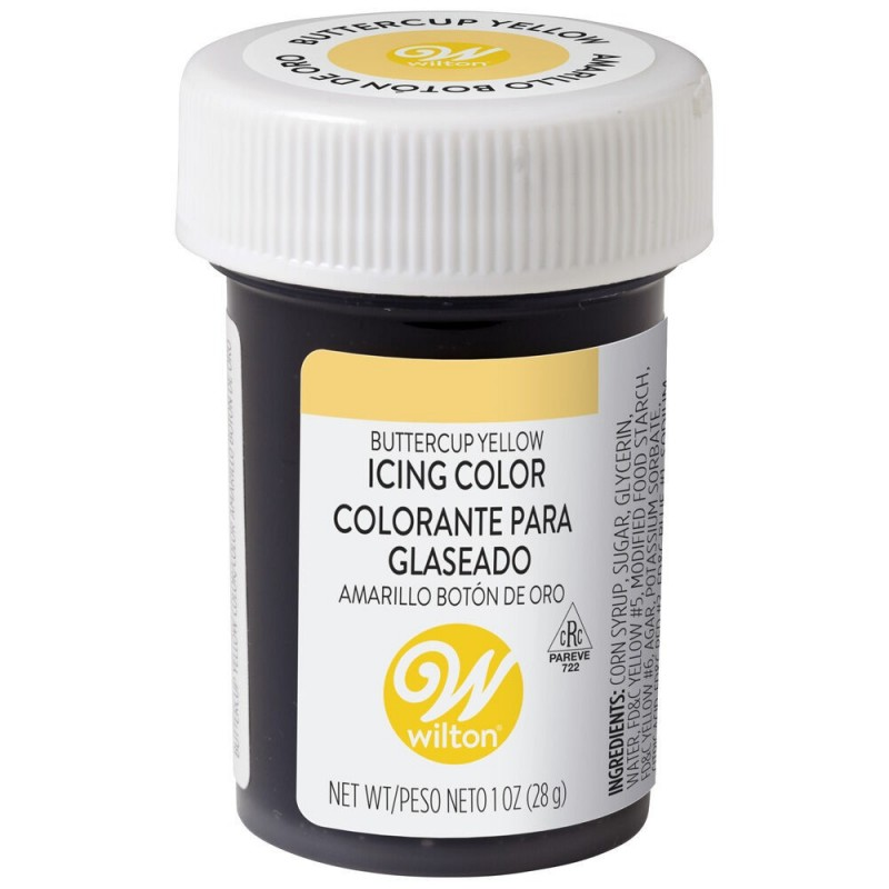 Wilton Icing Colour Buttercup Yellow 1oz