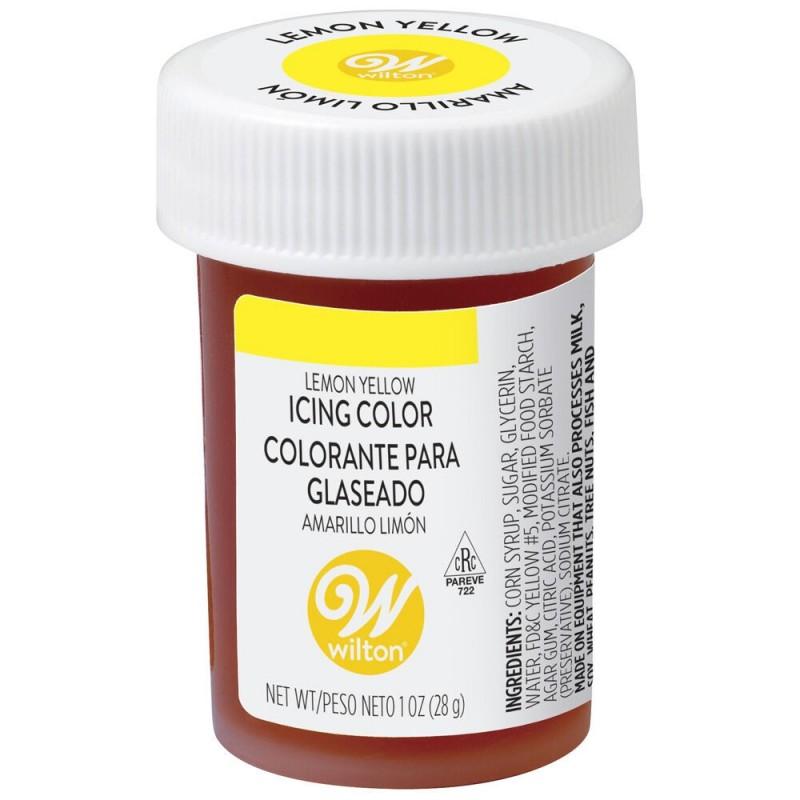 Wilton Icing Colour Lemon Yellow 1oz