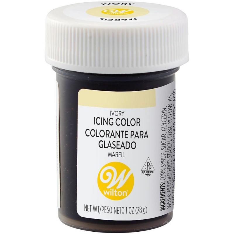 Wilton Icing Colour Ivory 1oz