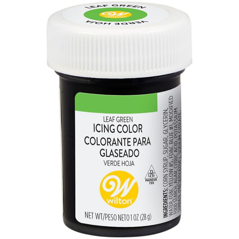 Wilton Icing Colour Leaf Green 1oz