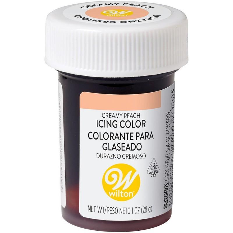 Wilton Icing Colour Cream Peach 1oz