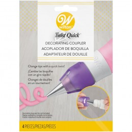 Wilton Twist Quick Tip Change Decorating Coupler