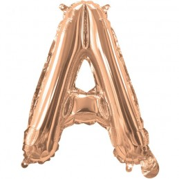 Rose Gold Letter A Balloon 35cm