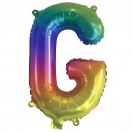 Rainbow Letter G Balloon 35cm