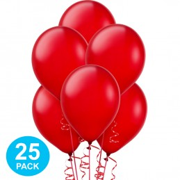 Red Latex Balloons (Pack of 25)