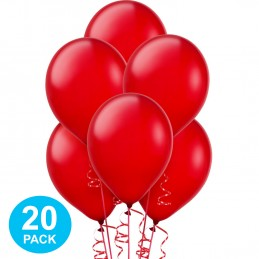 Red Pearl Balloons (Pack of 20)