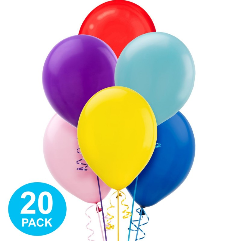Assorted Pearl Balloons (Pack of 20)