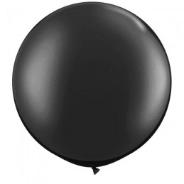 Black Jumbo 90cm Balloon