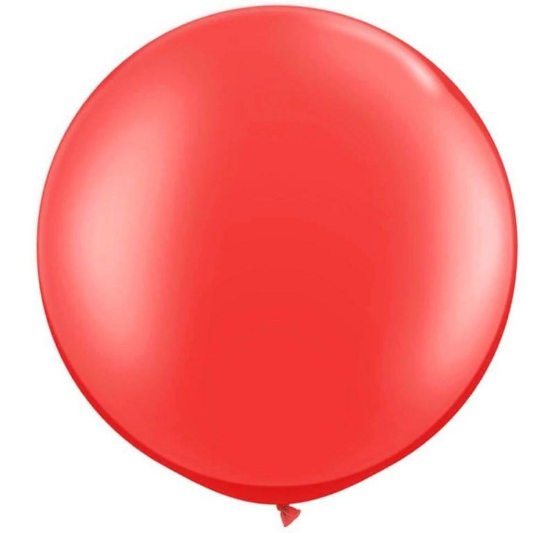 Red Jumbo 90cm Balloon