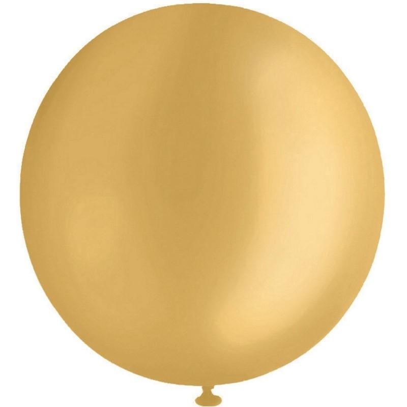Gold Jumbo 90cm Balloon