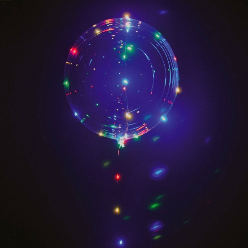 Light-Up Multi Colour LED Balloon