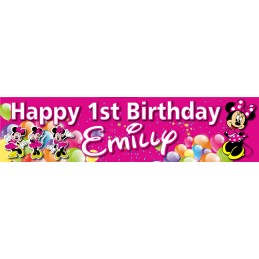 Minnie Mouse Birthday Party...
