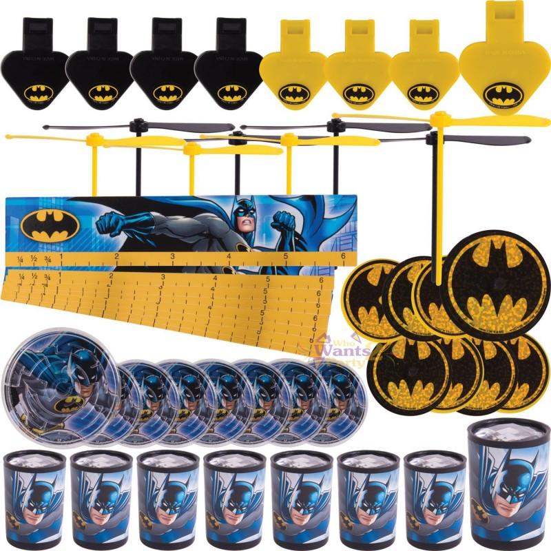 Batman Party Favours Pack (48 Pieces)