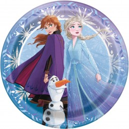 Frozen 2 Small Plates (Pack of 8)