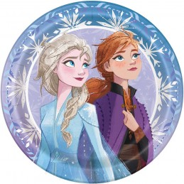 Frozen 2 Large Plates (Pack of 8)