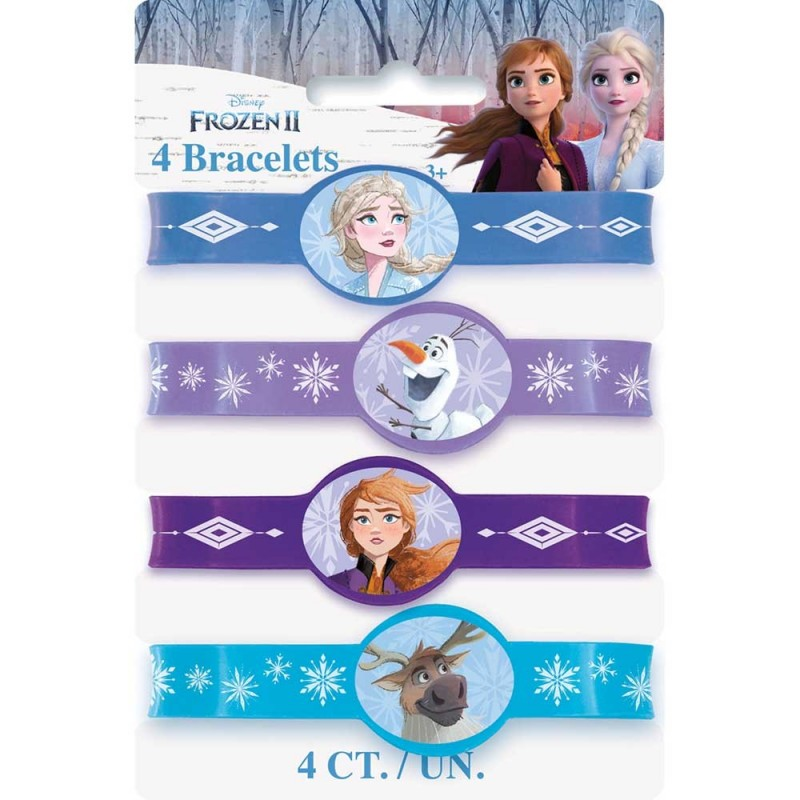 Frozen 2 Rubber Wristbands (Pack of 4)