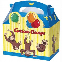 Curious George Loot Boxes (Pack of 4)