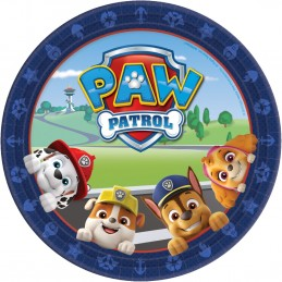 Paw Patrol Adventures Large Plates (Pack of 8)