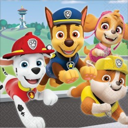 Paw Patrol Adventures Large Napkins (Pack of 16)