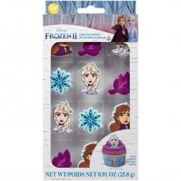 Wilton Frozen 2 Icing Decorations (Set of 12) | Frozen 2 Party Supplies