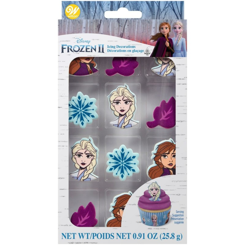 Wilton Frozen 2 Icing Decorations (Set of 12)