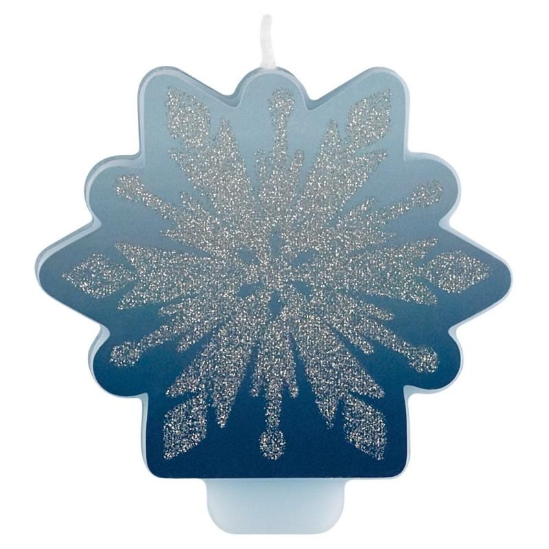 Frozen 2 Glitter Candle