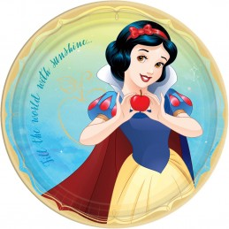 Disney Princess Snow White Large Plates (Pack of 8)