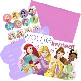 Disney Princess Dream Big Party Invitations (Pack of 8)
