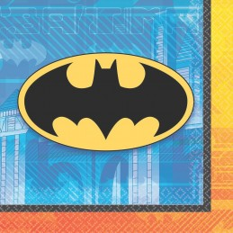 Batman Small Napkins (Pack of 16)