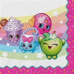 Shopkins Large Napkins (Pack of 16)