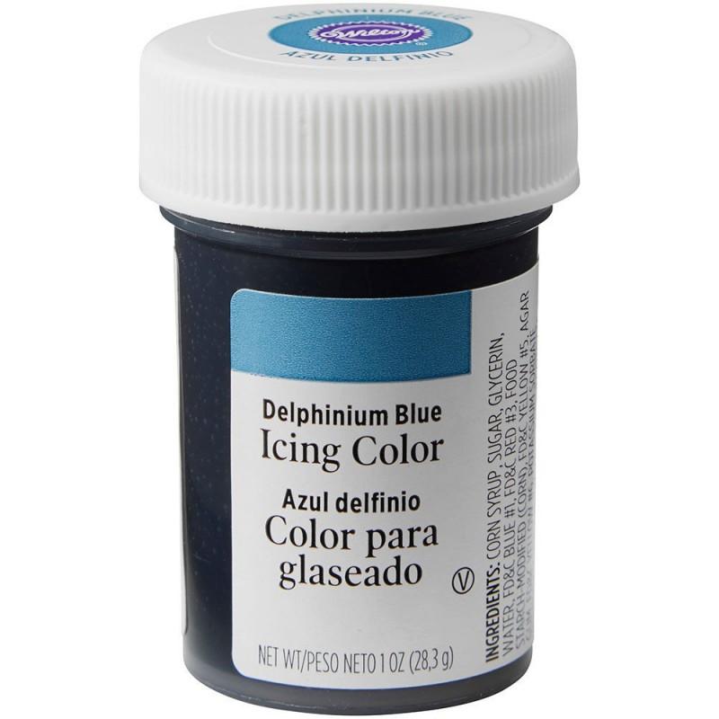 Wilton Icing Colour Delphinium Blue 1oz
