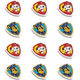 Paw Patrol Erasers (Set of 12)