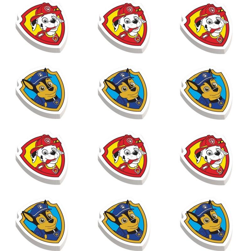 Paw Patrol Erasers (Set of 12)