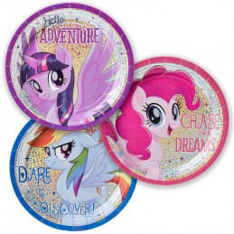 My Little Pony Small Plates (Pack of 8)