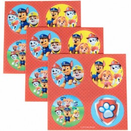 Wilton Paw Patrol Edible Cupcake Toppers (Set of 12)