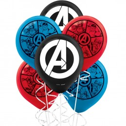 Avengers Power Unite Balloons (Pack of 6)