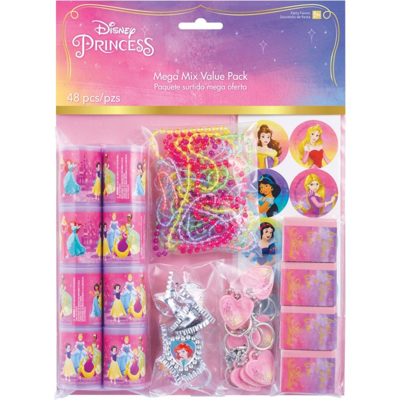 Disney Princess Favours Pack (48 Piece)