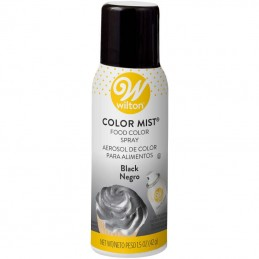 Wilton Colour Mist - Black - 42g | Edible Food Spray Party Supplies
