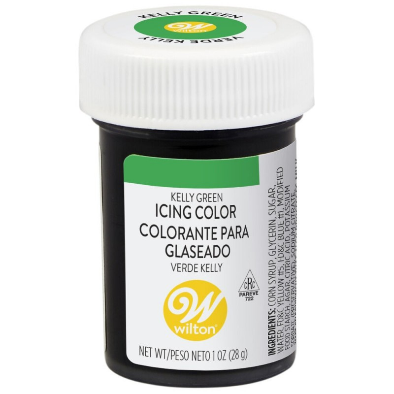 Wilton Icing Colour Kelly Green 1oz