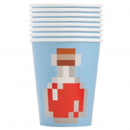 Minecraft Paper Cups (Pack of 8)