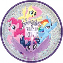 My Little Pony Large Plates (Pack of 8)