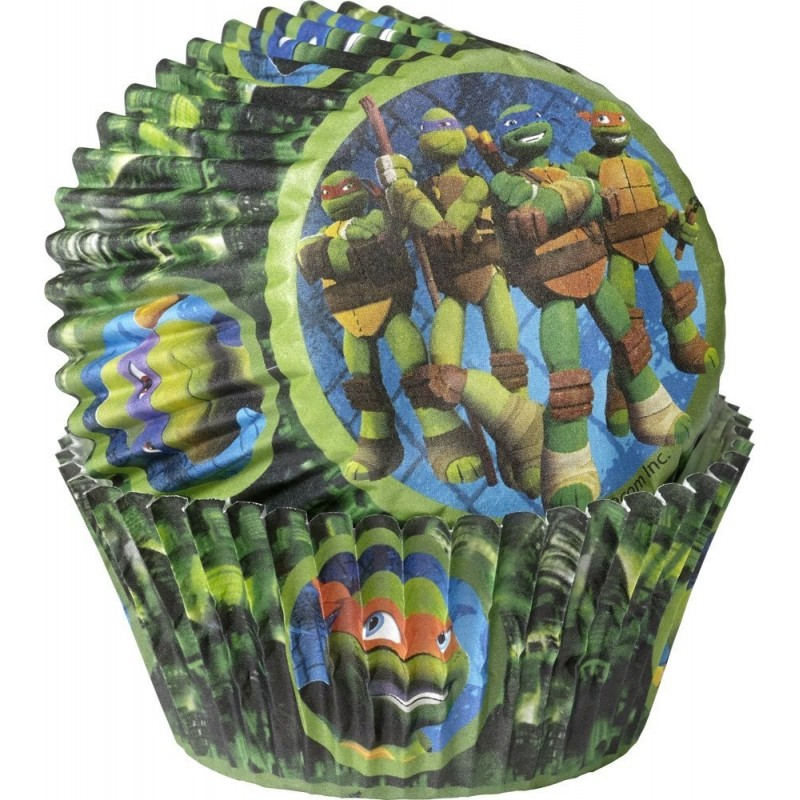 Teenage Mutant Ninja Turtles Baking Cups Patty Pans (Pack of 50)