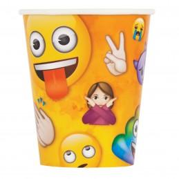 Rainbow Emoji Paper Cups (Pack of 8)