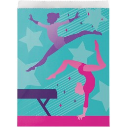 Gymnastics Party Bags (Pack of 8)